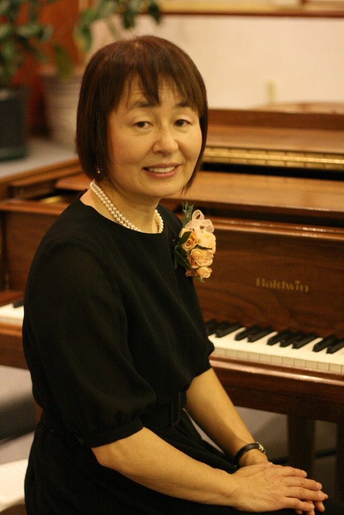 Masako Yamamoto, Owner and Chief Instructor of Masako's Music Studio