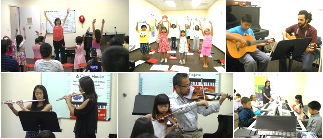 Photos from the recent concerts at Masako's Music Studio
