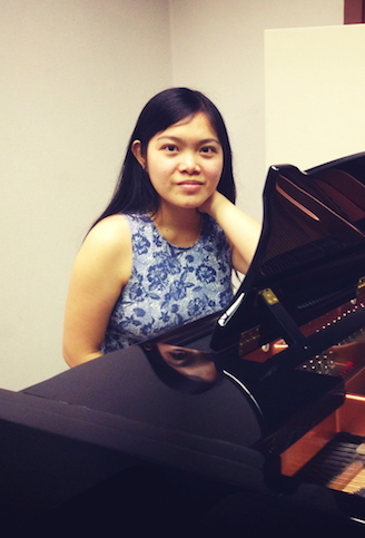 Trinh teaches keyboard and piano classes