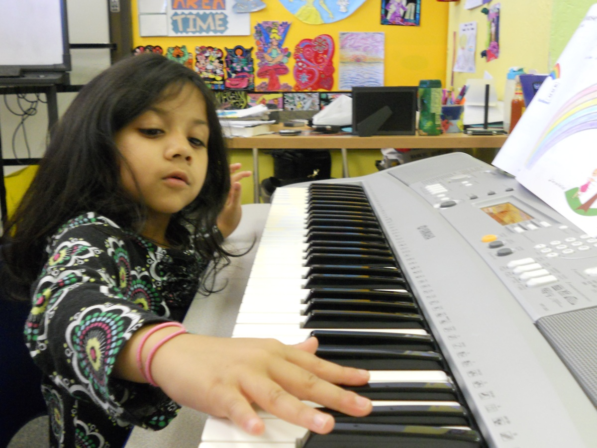 Photo from Young Musicians 3 Keyboard class